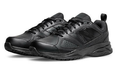 GENUINE New Balance 624 Mens Cross Training Shoes Black 2E WIDE