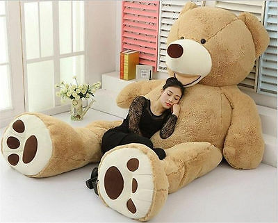 ONLY COVER 80-340CM Giant Large Big USA Teddy Bear Plush Soft Toys doll GiftS