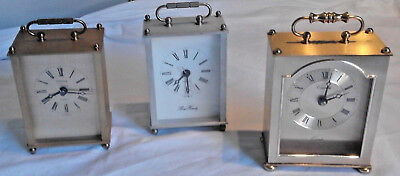 2 Carriage Clock's £10 EACH Fully Working