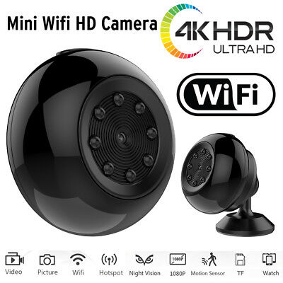 SQ17 Mini Wireless WIFI Camera Night Vision 4K Full HD DVR IP Surveillance