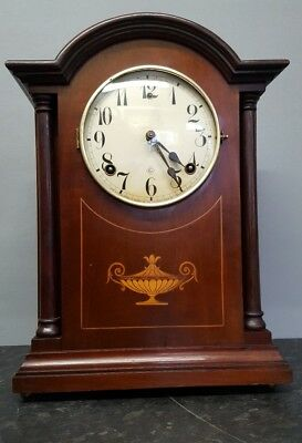 Vintage Bracket Clock with Bell and Gong Strike