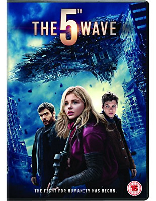 The 5th Wave Dvd Chloe Grace Moretz Brand New & Factory Sealed