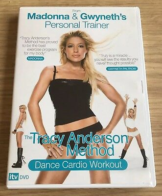Tracy Anderson Method Dance Cardio Workout Exercise Fitness DVD *FREE POSTAGE*