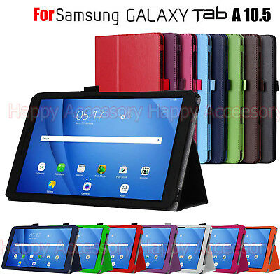 Flip Leather Case Folder Cover for Samsung Galaxy Tab A 10.5 T590, T595