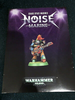 Warhammer 40K Chaos Space Marines Limited Edition 2018 Noise Marine