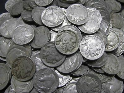 Lot Of 10 Premium Full Date Buffalo Nickels! Great Gift!