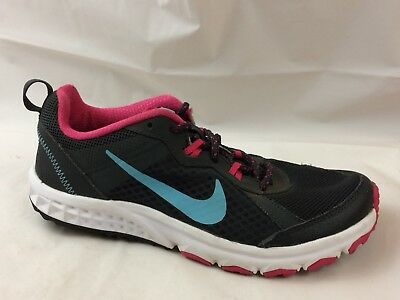 online store e89f5 bc59f Nike Womens 6 Med Wild Trail Running Shoes Sneaker Hiking 643074 Black Blue  Pink