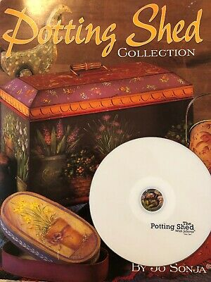 Potting Shed Collection Book PLUS Accompanying DVD by Jo Sonja