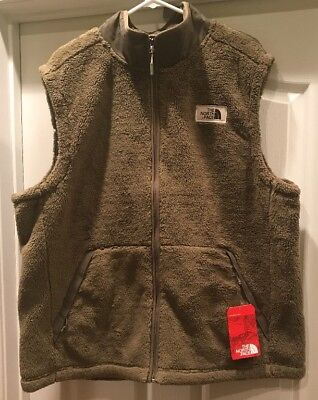 388818bc1 THE NORTH FACE Men's Campshire Vest Burnt Olive Green 2XL XXL NWT $100