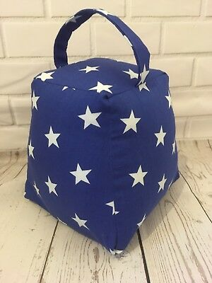 Blue And White Star Bedroom Doorstop