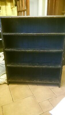 Old School Victorian Bookcase/cupboard