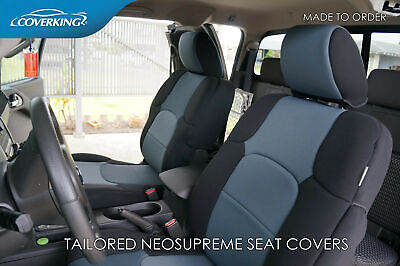Enjoyable Coverking Synthetic Leather Custom Seat Covers For Nissan Gmtry Best Dining Table And Chair Ideas Images Gmtryco