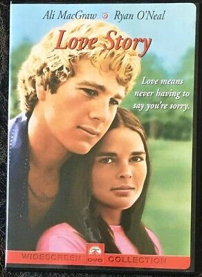 LOVE STORY DVD Ryan O'Neal Ali Macgraw US Release Sealed Brand NEW