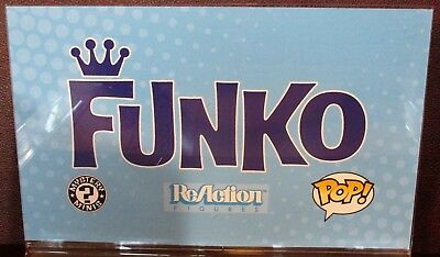 Funko Pop Sign Store Display Double Sided! RARE Toys R Us
