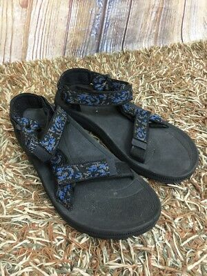 c917fb955 TEVA 6577  HURRICANE  Blue Ankle Strap Sport Sandals Womens SIZE 9 ...