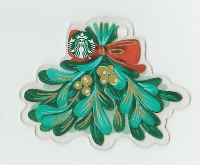 Starbucks collectible gift card no value mint #178 Ornament