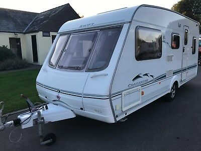 2003 Swift Challenger 490 5 Berth Double Dinette Awning & Accessories Available
