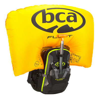 Bca Float Mtnpro Vest Black/green L/xl Avalanche Airbag With Canister