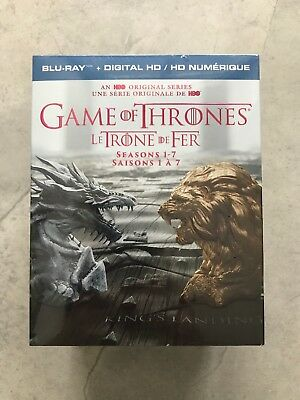 Game of Thrones Seasons 1-7 (Blu-ray + Digital, Bilingual) 30 Discs