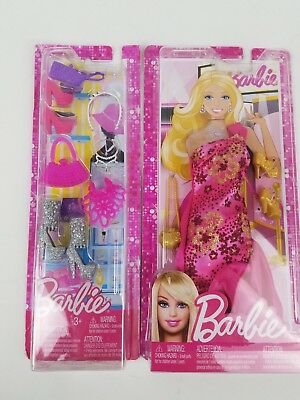 Barbie Fashionistas Clothing dress shoes and accessories lot