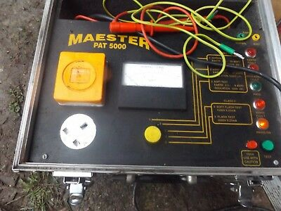 Maester 5000 Pat Tester Portable Appliance Electrical Test Meter
