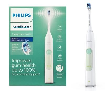 Philips Sonicare 3 Series HX6631 Gum Health Brush Head Rechargeable Toothbrush