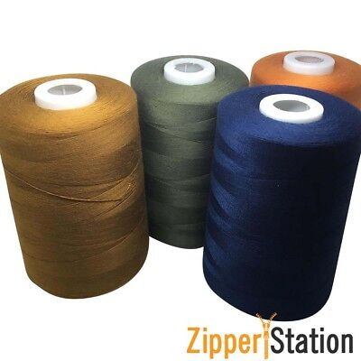 80s Sewing Thread 100% Polyester, 5000m, Extra Strong For Jeans