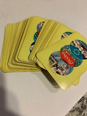 Deck Of Expo '67 (Montreal Canada) Souvenir Playing Cards