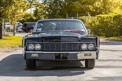 1967 Lincoln Continental  1967 Lincoln Continental 2 DR Convertible.Black with red interior.