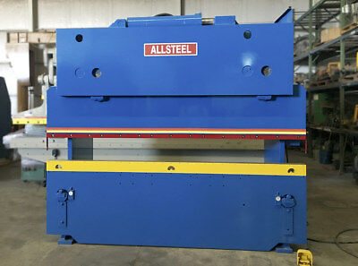 Allsteel Hydraulic Press Brake, 50 Tons, 10' Bed