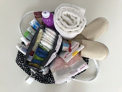 DELUXE Pre-packed Hospital Maternity Bag - Practical Baby Shower Gift!