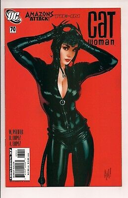Catwoman #70 Cover by Adam Hughes (Oct 2007, DC) High Condition