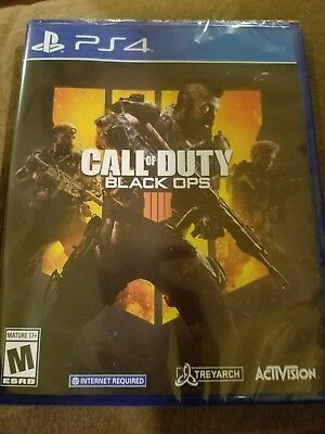 Call of Duty: Black Ops 4 Sony PlayStation 4 PS4  BRAND NEW, SEALED!!!