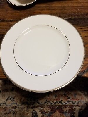 """3 Wedgwood """"sterling"""" Dinner Plates 10 3/4"""" Bone China Brand Made In England"""