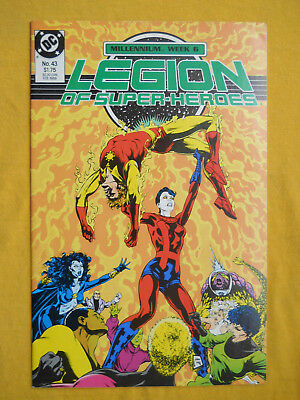Legion of Super-Heroes #43 (Feb 1988, DC) - VF+