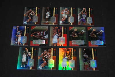 (13) 1998/99 Spx Finite Spectrum Basketball /250 /350 Stackhouse Lot B566