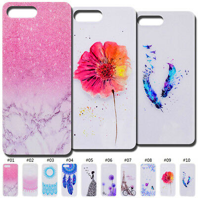 For Huawei Protective Case Cover Shockproof TPU Soft Clear Rubber Silicone Skin