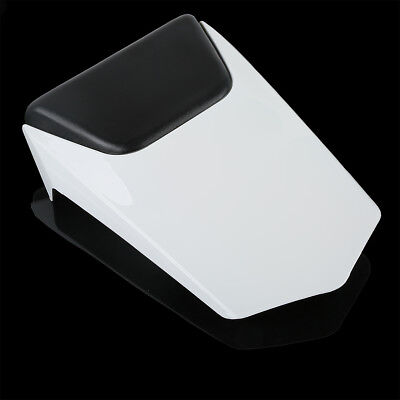 Passenger Rear Seat Cover Cowl Cap For 2000-2001 YAMAHA YZF 1000 R1 YZFR1 White