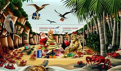 Christmas Island 2012 Christmas Miniature Sheet Superb Mnh/muh