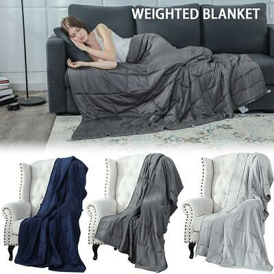 New Weighted Blanket Autism Gravity Blanket Anxiety Stress Relief Glass Bead