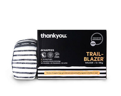 Thankyou Nappies Trail Blazer Walker - 64 Pack