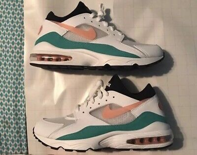 the latest ceb09 766c4 Nike Mens Air Max 93 Watermelon Running Shoes 306551-105 Size 11 NEW