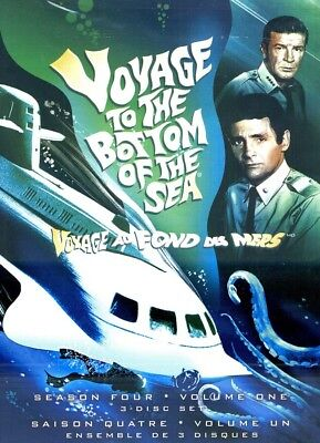 Voyage To The Bottom Of The Sea - Season 4, Vol. 1 (Bilingual) (Keepcase) (Dvd)