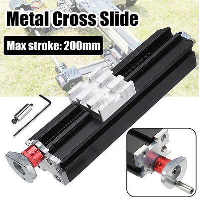 200mm Long Metal Cross Slide Block Z010M for Lathe Feeding Relieving Axis X/Y/Z