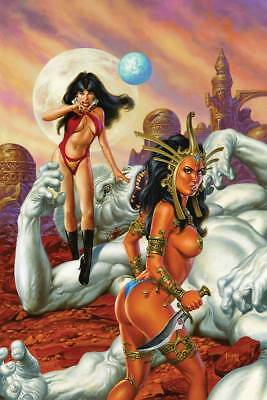 Vampirella Dejah Thoris #1 50 Copy Jusko Virgin Incentive Cover