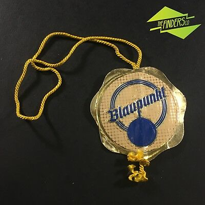 Excellent Vintage Retro Blaupunkt Stereo Embossed Gold Seal Swing Tag