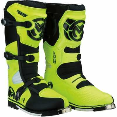 Stivali Boots Moto Cross Enduro Mooseracing M1.3 Giallo Fluo