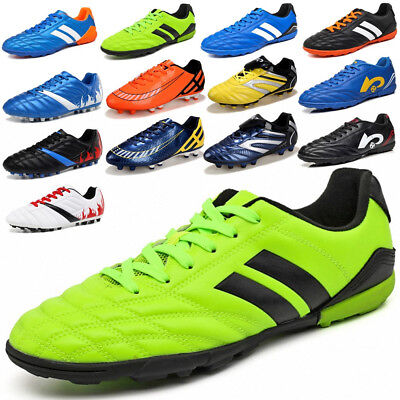 3bcc9ebf425e New Kids Adults Outdoor Sports Shoes TF Turf Sole Soccer Football Trainers  Shoes