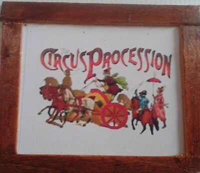 Dolls House  Circus Procession Picture