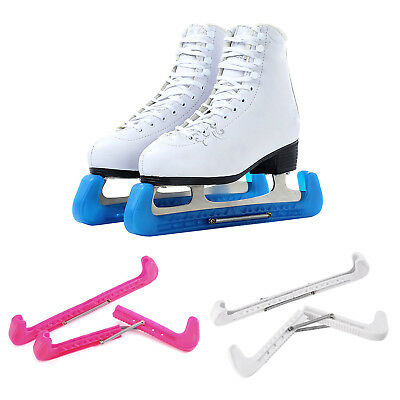 1 Paire Ice Skate Protège-lames Hockey Patins Multicolore Blade Guard Protection